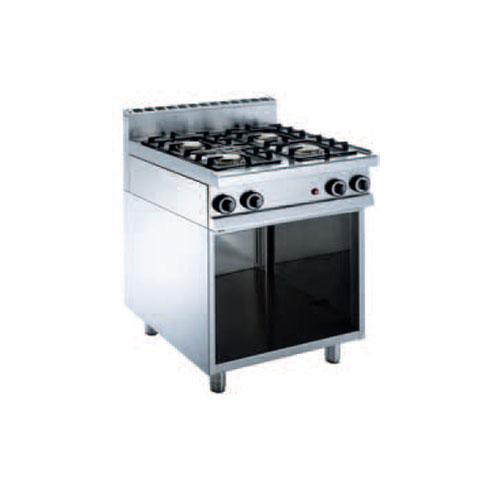 Cucina a gas 4 fuochi su vano a giorno - Cucina a gas due fuochi ...
