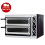 SMALL GLASS BASIC 2/40- Forno pizzeria bicamera con porta a vetri