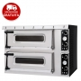 SMALL BASIC PLUS 2/50 - Forno pizzeria con porta a vetro